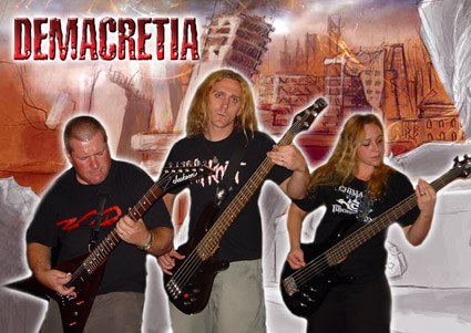 Demacretia 2008 Band Photo Design
